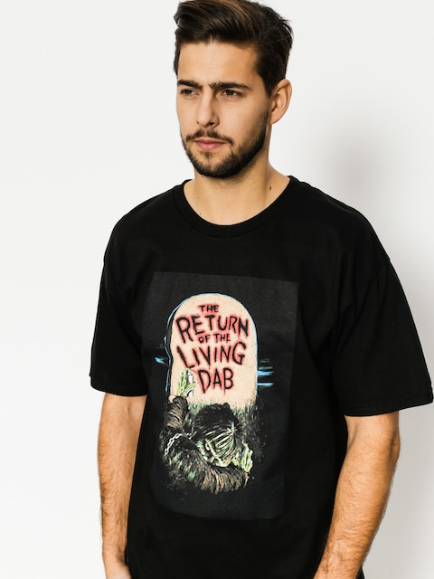 Tričko Skate Mental Return Of The Living Dab (black)