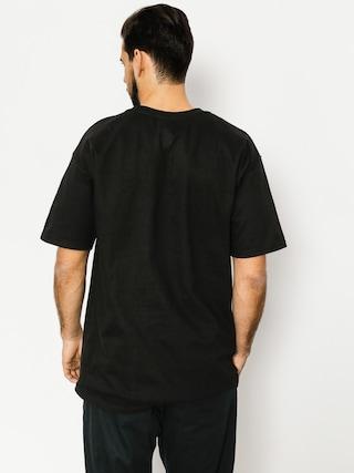 Tričko Skate Mental Upper Decker Pocket (black)