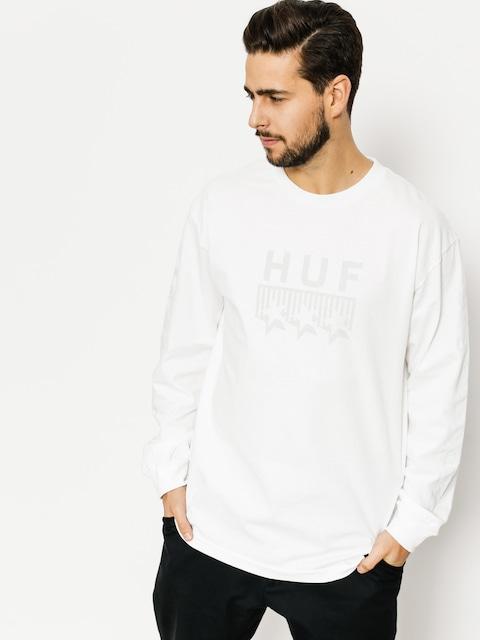 Triko HUF Blackout Classic (white)