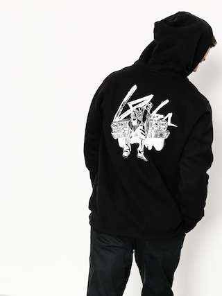 Mikina s kapucí Koka Eazy HD (black)