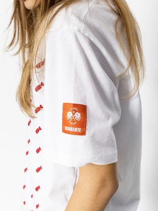 Tričko Diamante Wear Flag 02 (white)