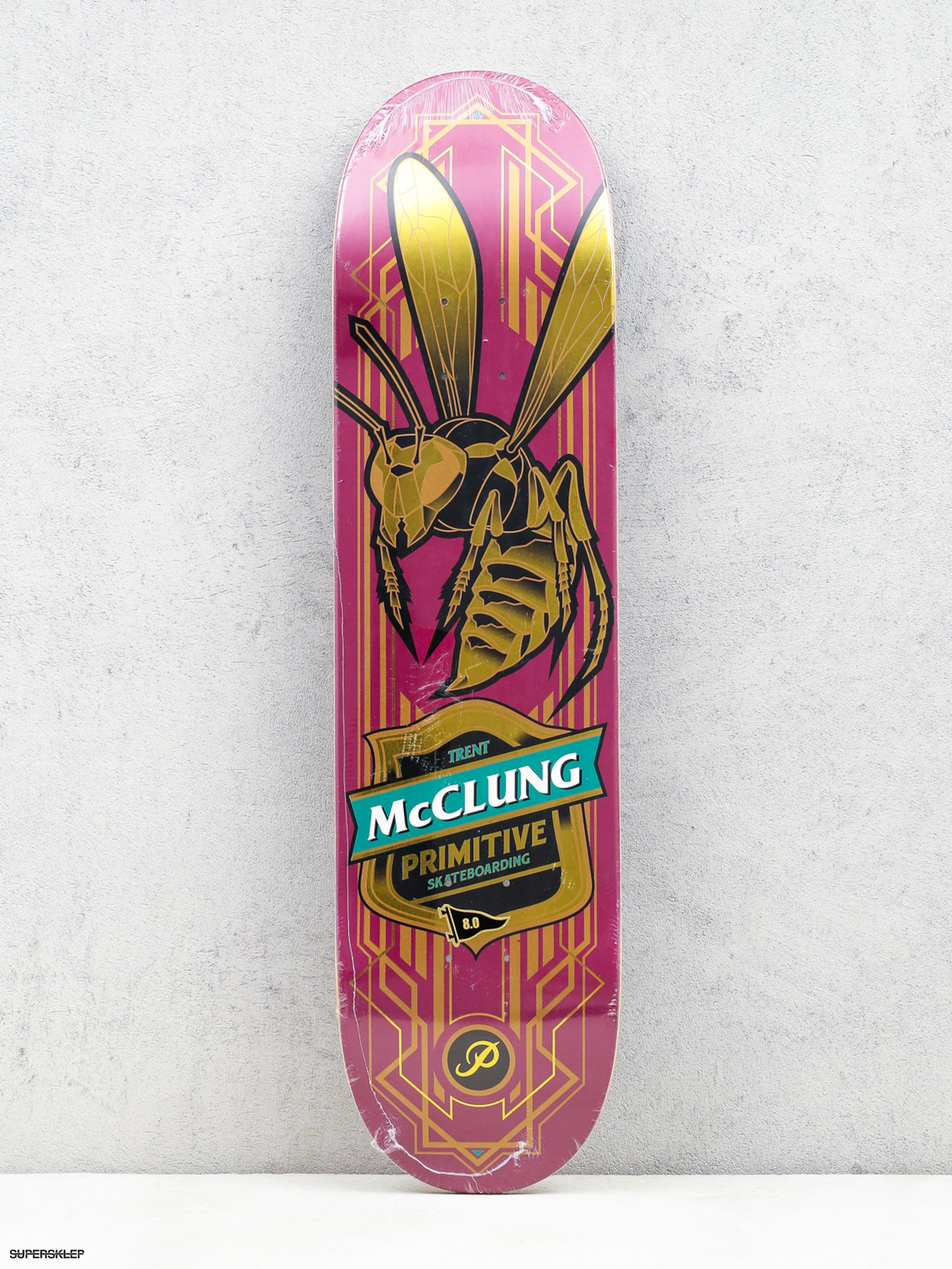 Deska Primitive Mc Clung Hornet (gold wasp/pink)