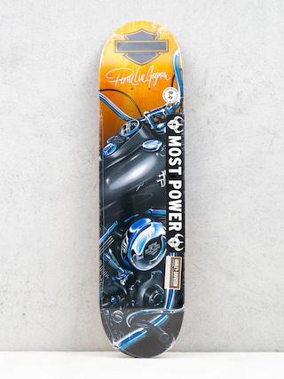 Deska Darkstar X Harley Davidson Dyna R7 (black/orange/blue)