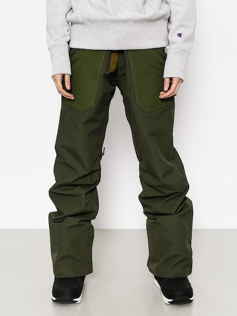 Snowboardové kalhoty  Burton Veazie Wmn (frstnt/rflgrn)