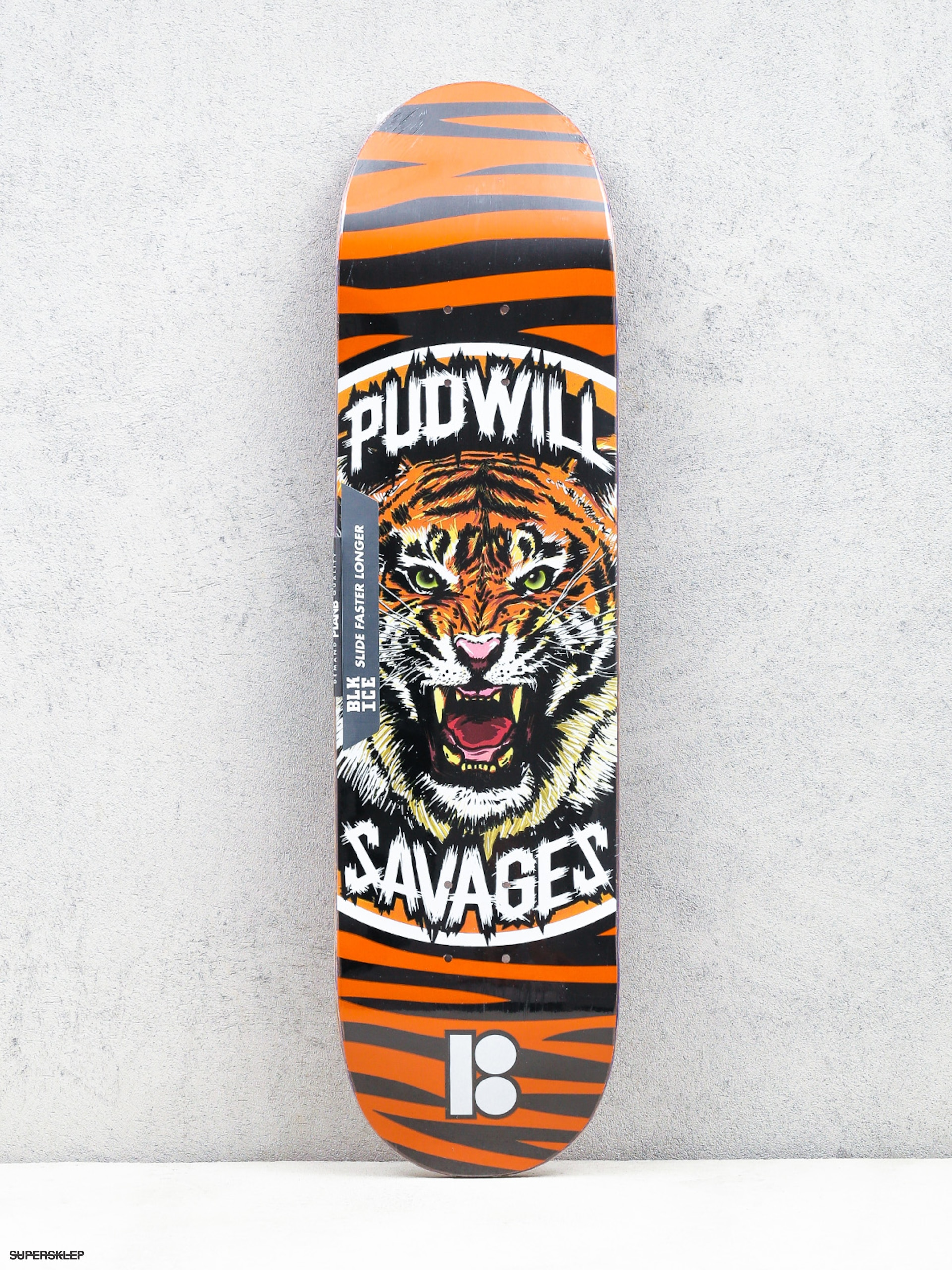 Deska Plan B Pudwill Savages (orange/black)