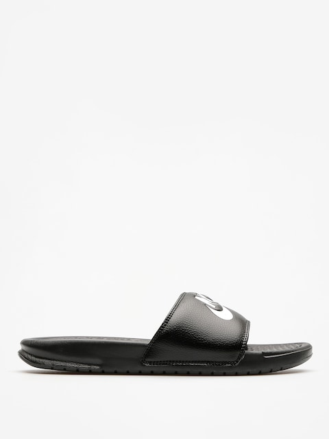 Plážovky Nike Benassi Just Do It Sandal (black/white)