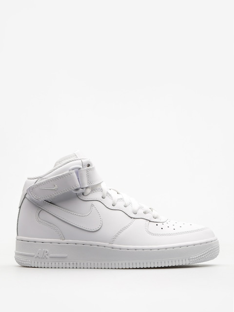 Boty Nike Air Force 1 Mid Gs Basketball (white/white)