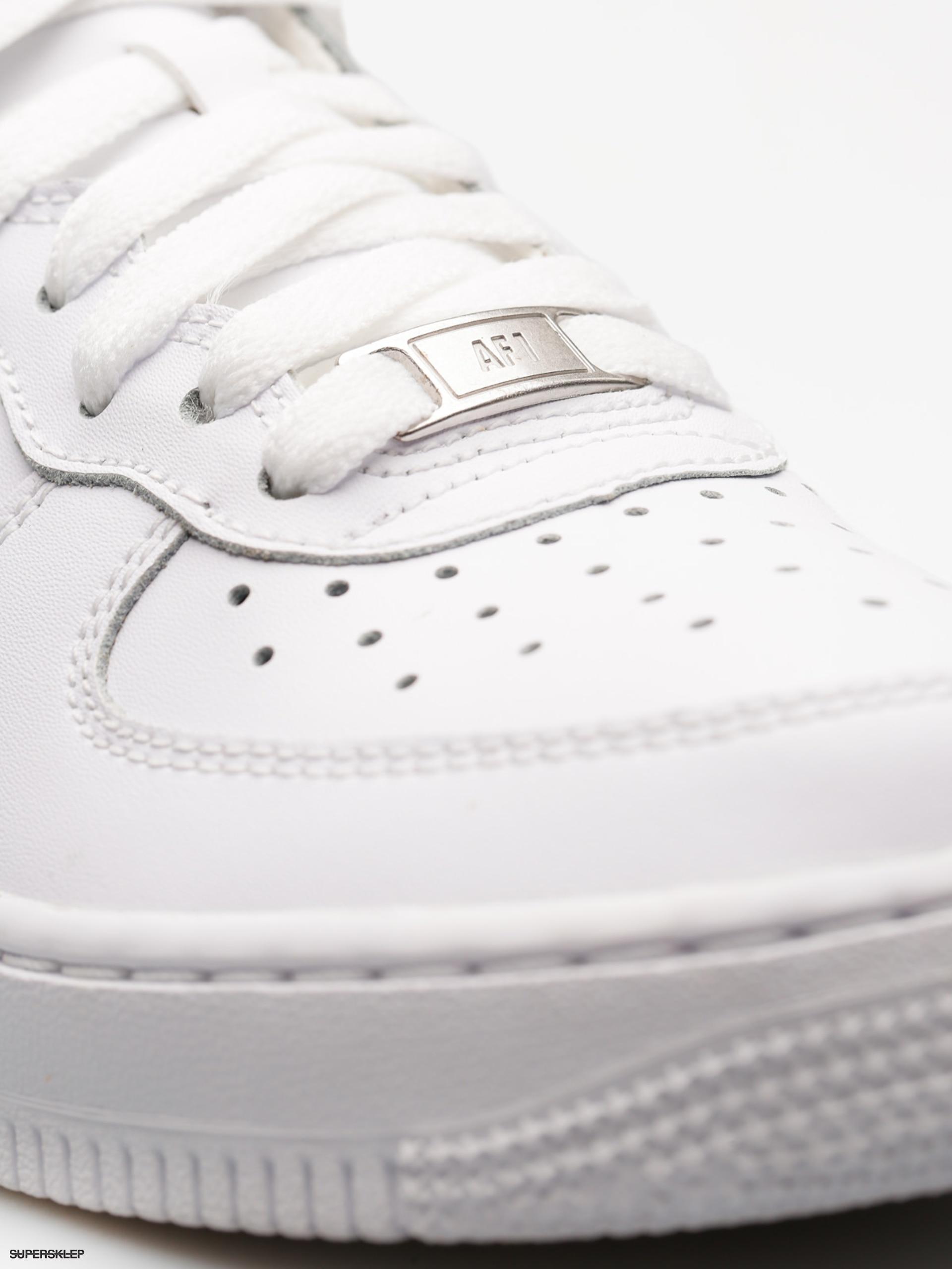 Boty Nike Air Force 1 Mid Gs Basketball (white white) fa201948a5b