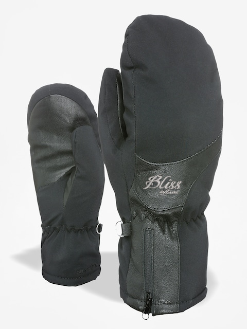 Rukavice Level Bliss Emerald Mitt Gore Tex Wmn (black)