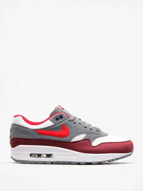 Boty Nike Air Max 1 (white/university red cool grey team red)