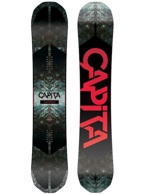 Snowboard Capita Warpspeed (white/black/red)