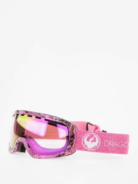 Brýle na snowboard Dragon Rogue (mill/lumalens pink ion/dark smoke)