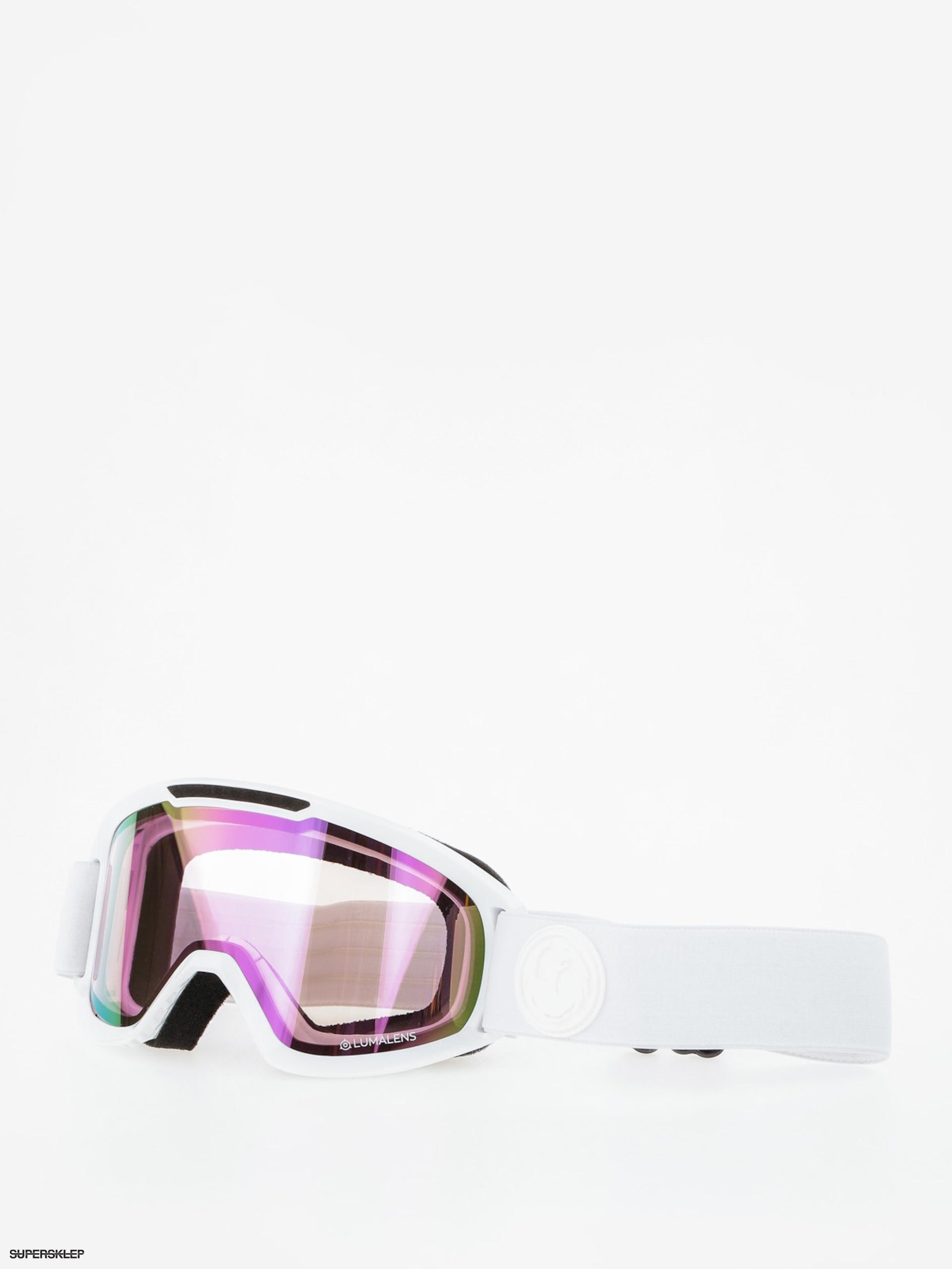 1837d854b9db Brýle na snowboard Dragon DX2 (whiteout lumalens pink ion dark smoke)