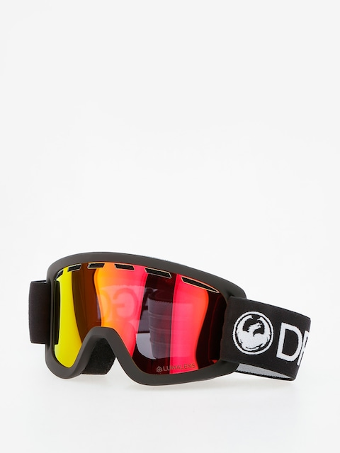 Brýle na snowboard Dragon Lil D (black/lumalens red ion)
