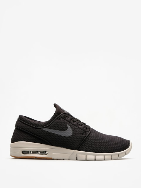 Boty Nike SB Sb Stefan Janoski Max (black/dark grey gum med brown light bone)