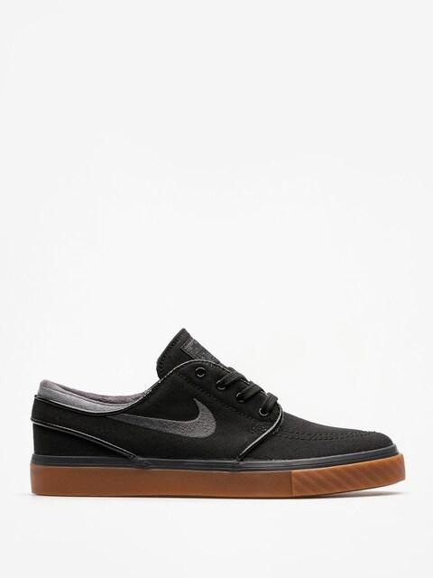 Boty Nike SB Zoom Stefan Janoski Cnvs (black/anthracite gum med brown)