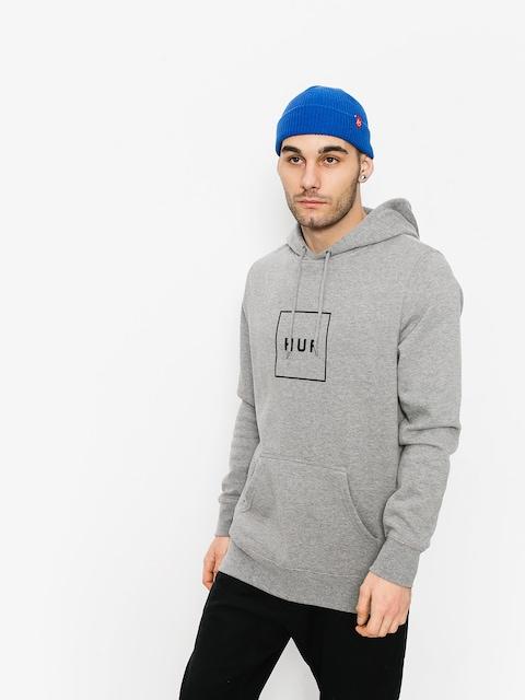 Mikina s kapucí HUF Box Logo HD (grey)