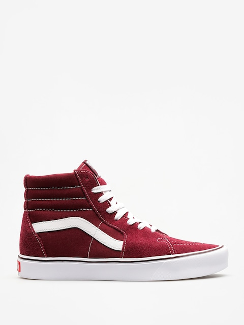 Boty Vans Sk8 Hi Lite (suede/canvas/port/royale/true/white)