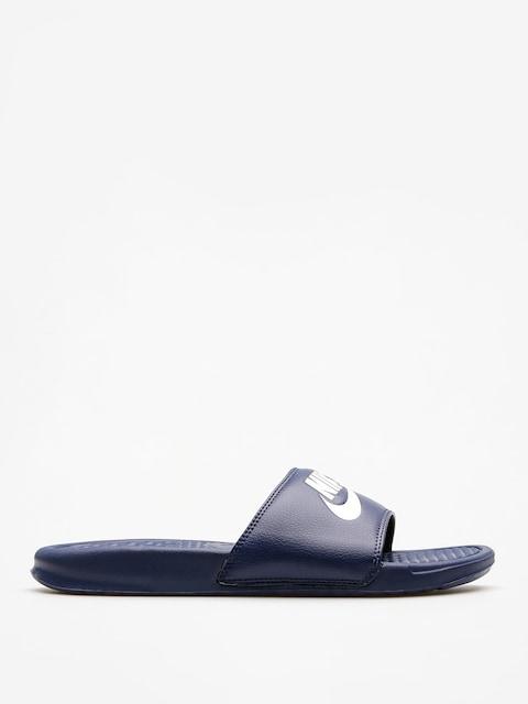 Nike Plážovky Benassi Jdi (midnight navy/windchill)