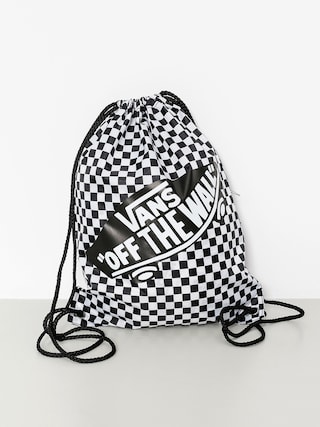Batoh Vans Benched Bag Wmn (black white/checkerboard)
