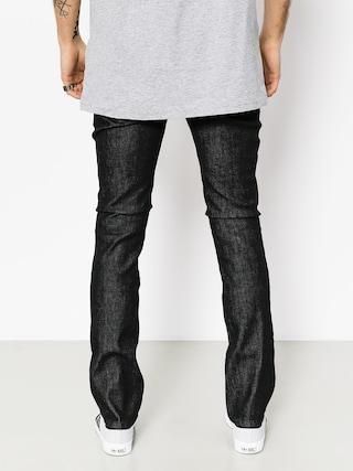 Kalhoty Etnies E1 Slim Denim (black raw)