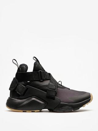 Boty Nike Air Huarache City Wmn (black/black dark grey gum light brown)