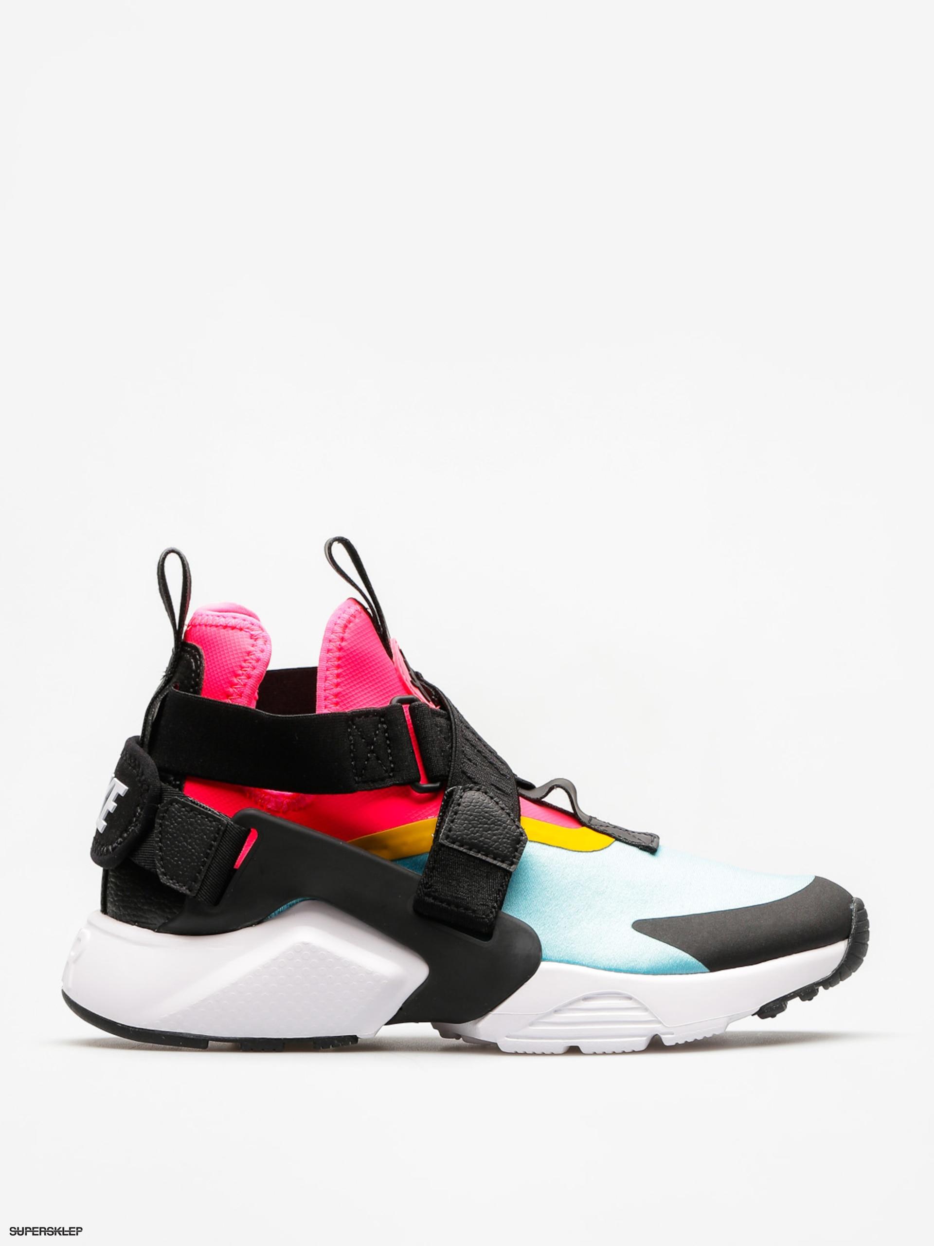 info for d03c8 e1850 Boty Nike Air Huarache City Wmn (bleached aqua black racer pink)