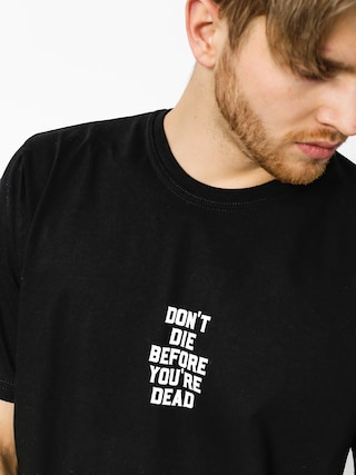 Tričko Diamante Wear Don't Die (black)