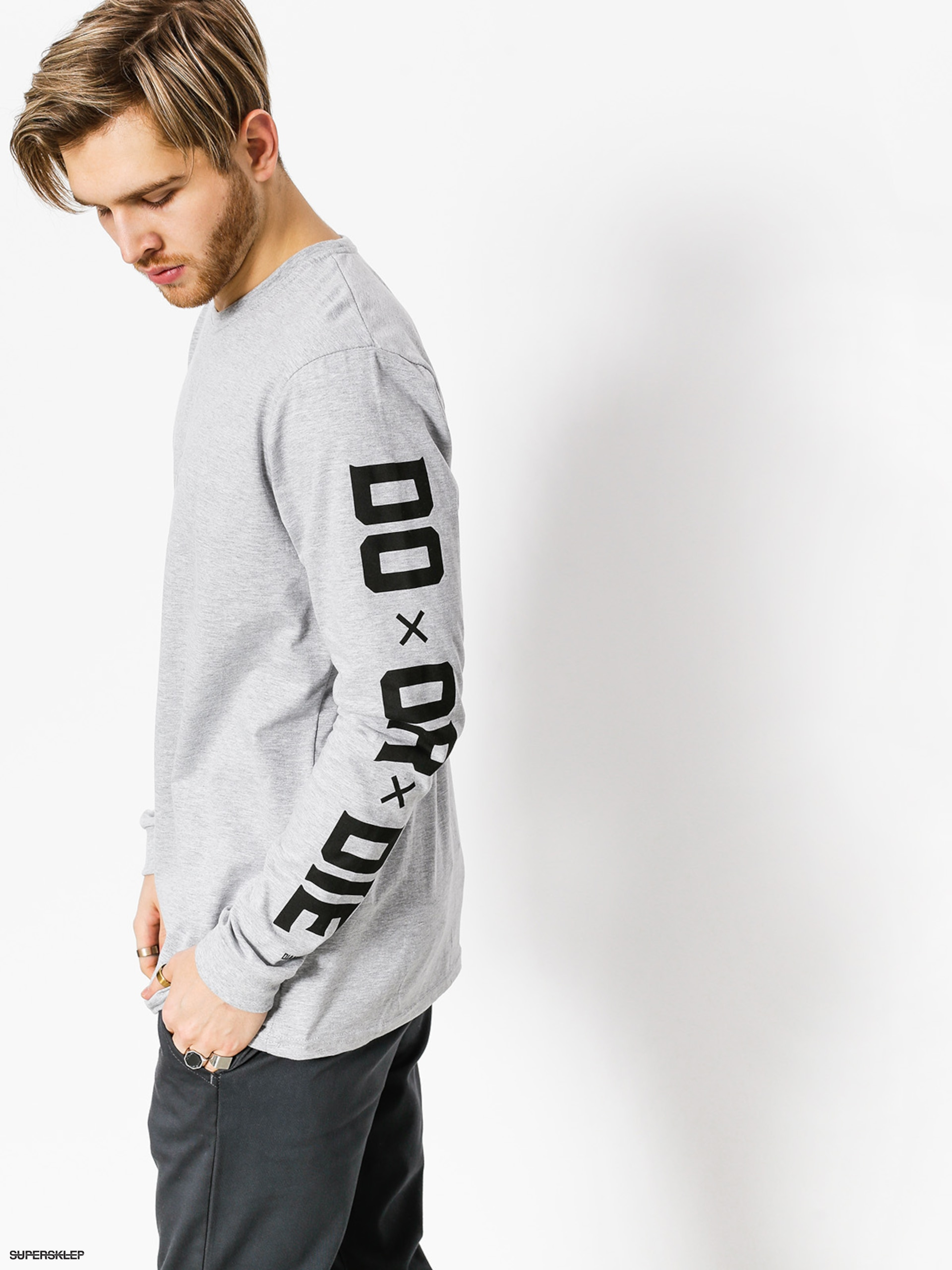 Triko Diamante Wear Do Or Die (grey)