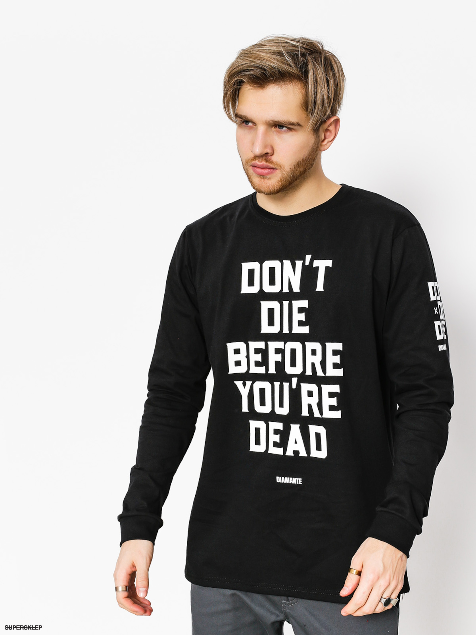 Triko Diamante Wear Don't Die (black)