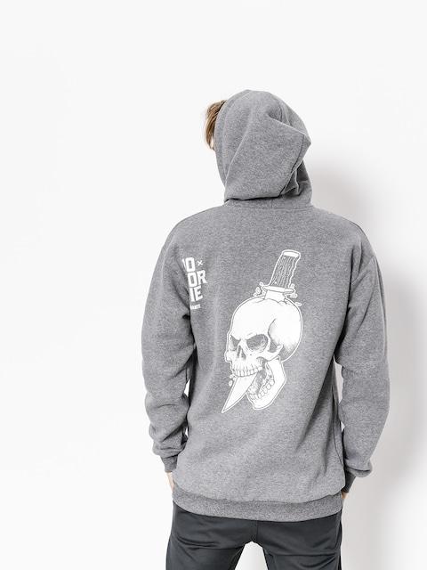Mikina s kapucí Diamante Wear Do Or Die ZHD (grey)