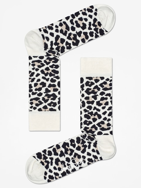 Ponožky Happy Socks Leopard (sand/black)