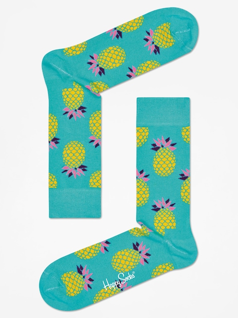 Ponožky Happy Socks Pineapple (mint)
