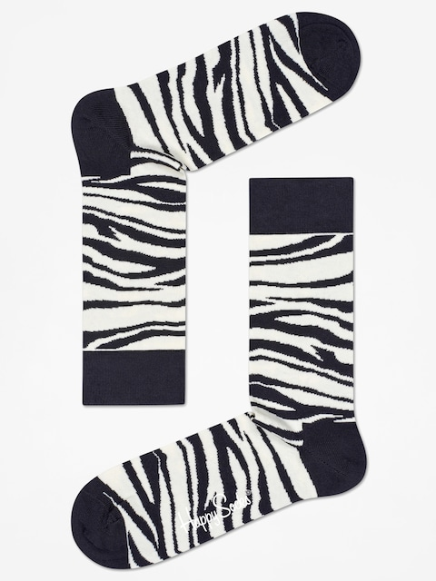 Ponožky Happy Socks Zebra (black/white)