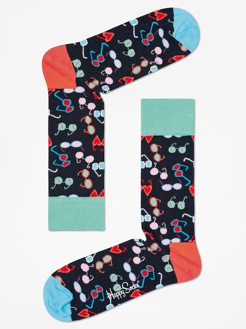Ponožky Happy Socks Glasses (black/multi)