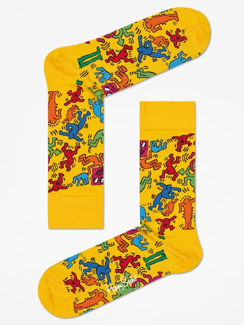 Ponožky Happy Socks Giftbox 3pk X Keith Haring (multicolor)