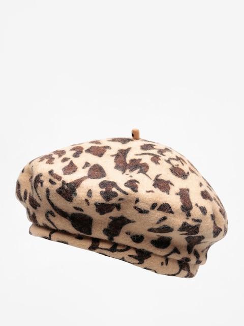 Klobouk s kšiltem Brixton Beret Audrey Lw Beret Wmn (leopard)