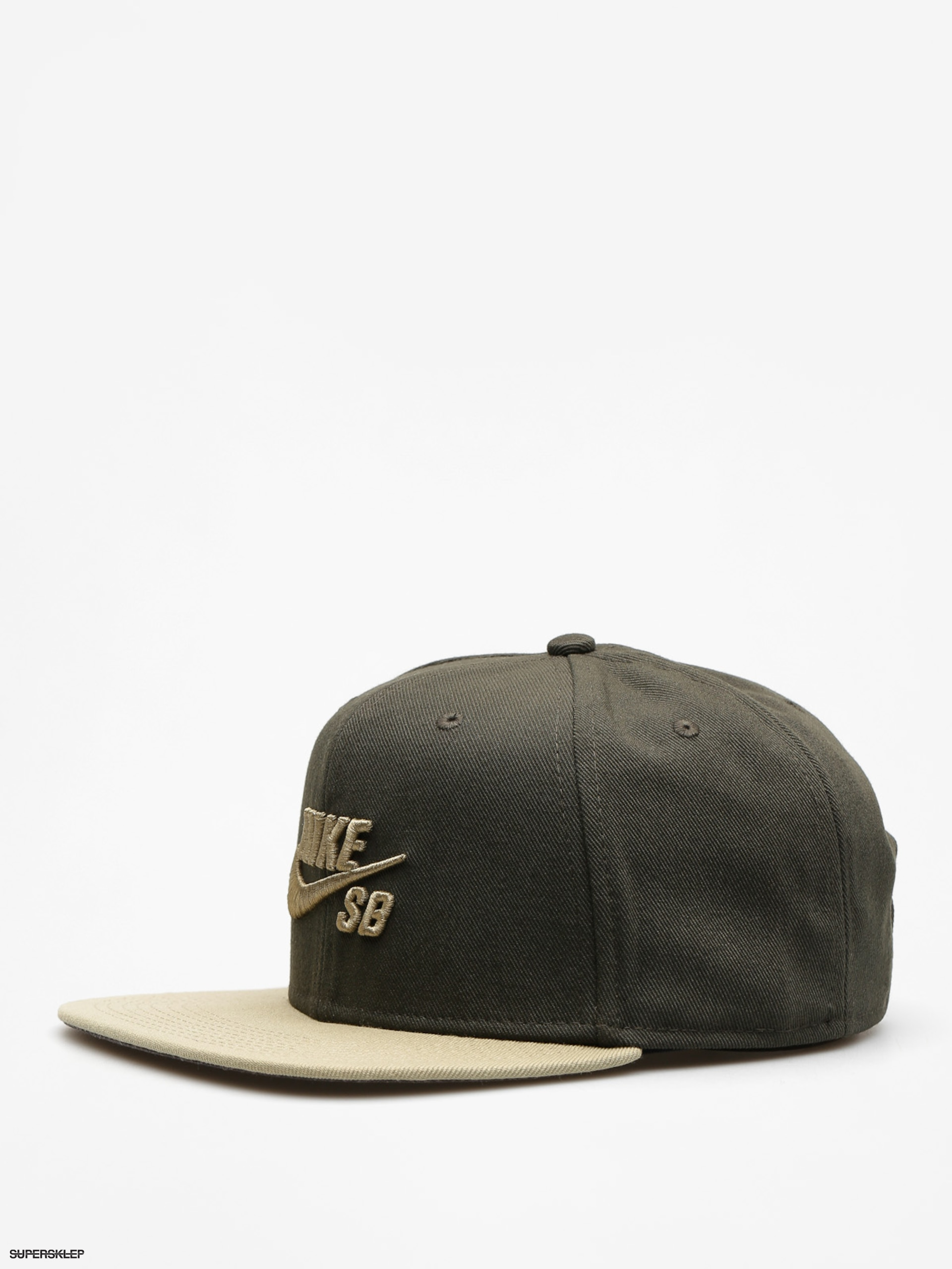 newest collection super cute low cost Kšiltovka Nike SB Sb Icon Snapback ZD (sequoia/neutral olive/neutral olive)