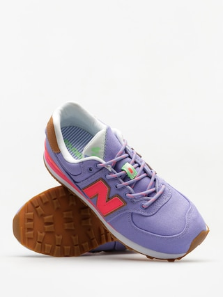 New Balance Boty 574 (purple/pink)