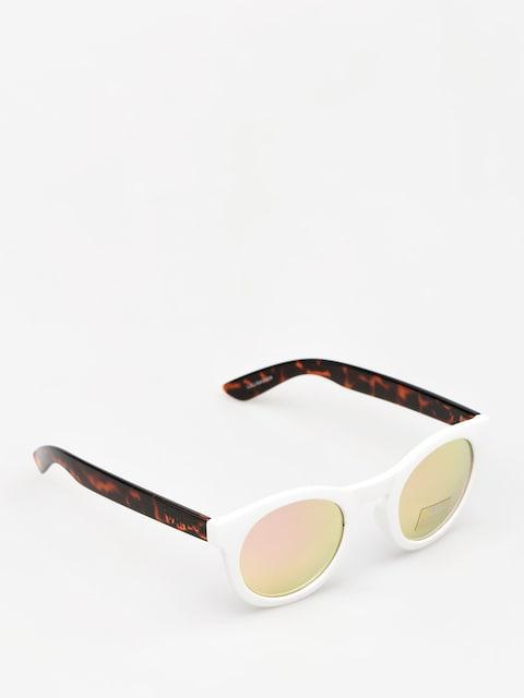 Sluneční brýle Vans Lolligagger Wmn (white/matte tortoise)