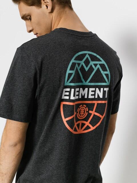Tričko Element Terra (charcoal heathe)