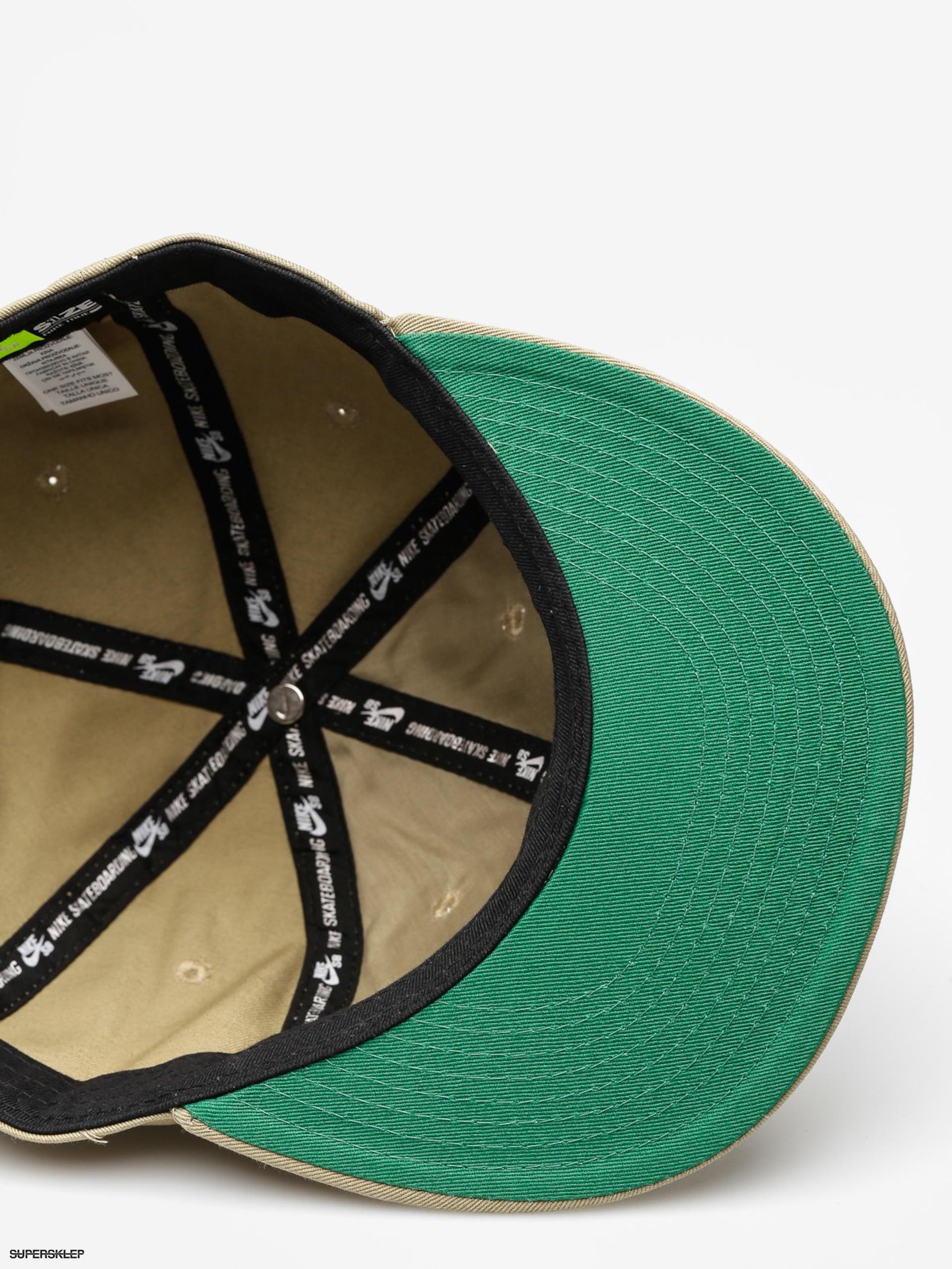 061922aa00df Kšiltovka Nike SB Nk Cap Sb Vintage ZD (neutral olive pine green neutral  olive)