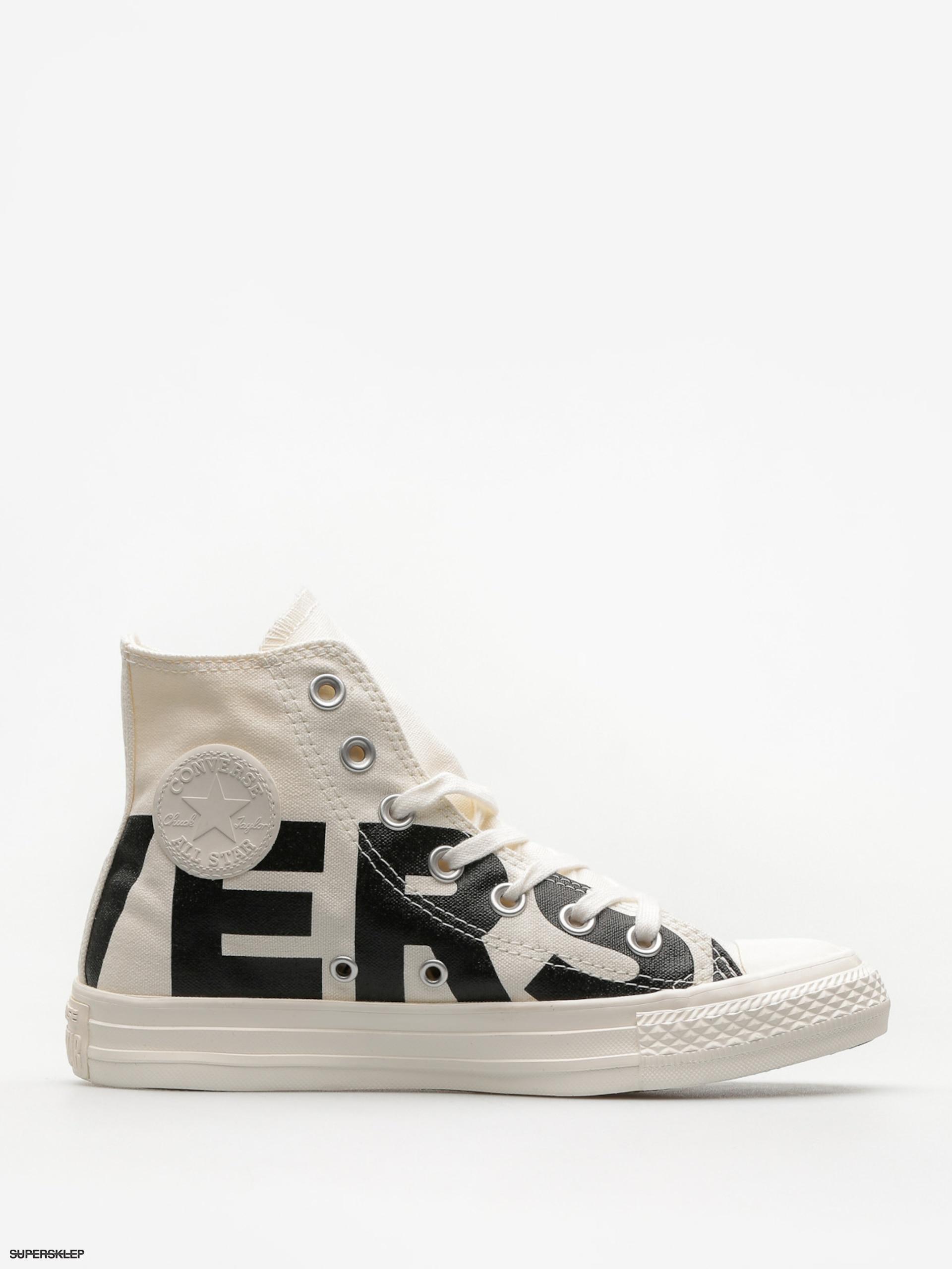 Tenisky Converse Chuck Taylor All Star Hi (natural black egret) e657289112d