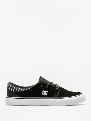 Boty DC Trase Se (black/white/black)