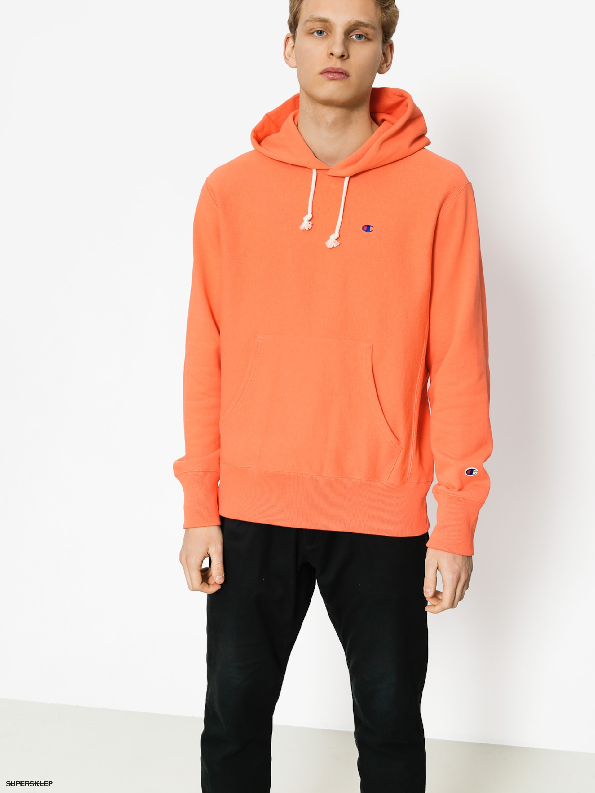 Mikina s kapucí Champion Reverse Weave Hooded Sweatshirt HD (psm)