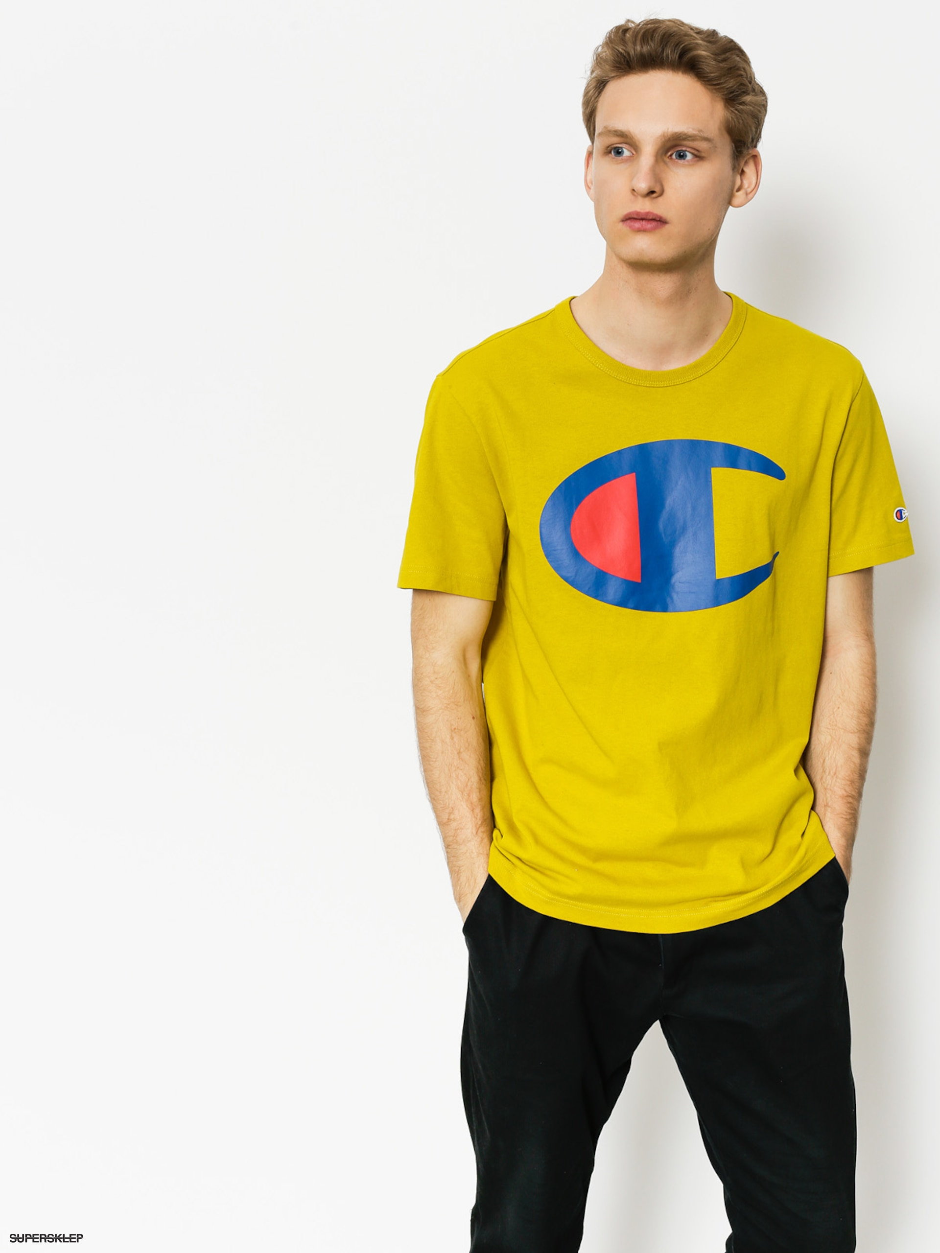 Tričko Champion Crewneck T Shirt (wax)