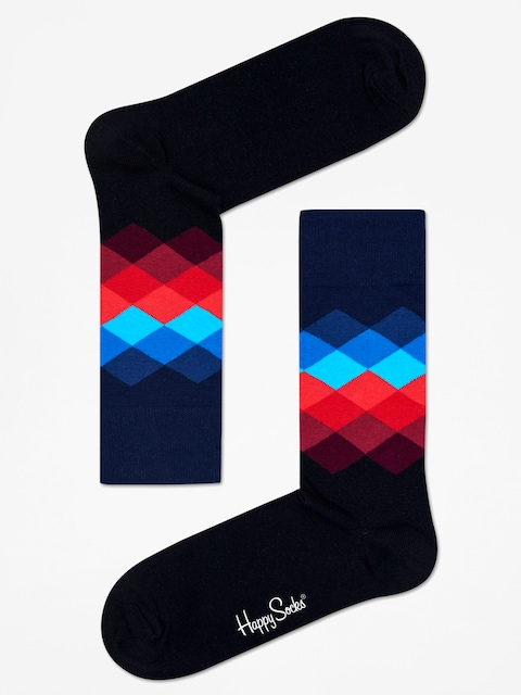 Ponožky Happy Socks Faded Diamond
