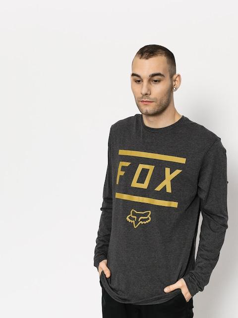 Triko Fox Listless Ls Tech (htr blk)