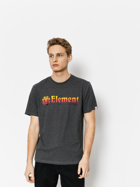 Tričko Element Horizontal Fill (charcoal heathe)