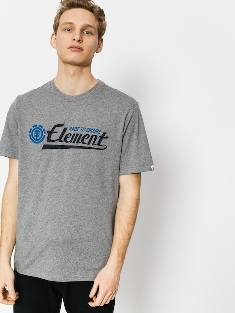 Tričko Element Signature (grey heather)